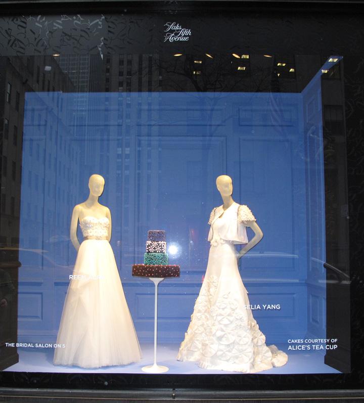 Anha Gown In Saks Fifth Avenue Window Display Selia Yang