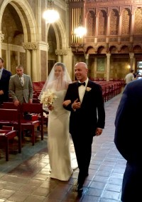 Selia Yang's bridal gown