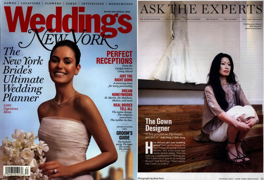 Selia Yang bridal shop nyc- ask gown expert Selia Yang